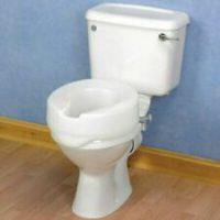 4″ RAISED TOILET SEAT