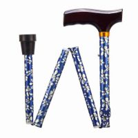 ADJ FOLDING WALKING STICK 33-37